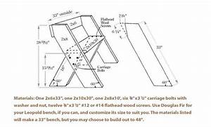 Aldo Leopold Garden Bench Plans, Free King Size Mission