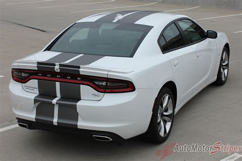 dodge charger  charge rally factory quality mopar style vin auto motor stripes