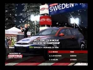 Colin Mcrae Rally 3 : colin mcrae rally 3 ps2 final podium 1st place youtube ~ Maxctalentgroup.com Avis de Voitures