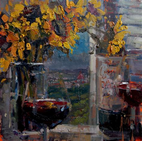 "Steven Quartly Original Oils ""View of Florence"" - Featured ..."