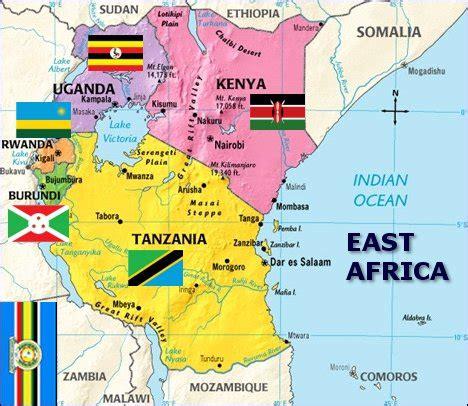 rwanda east africa map campinglifestyle