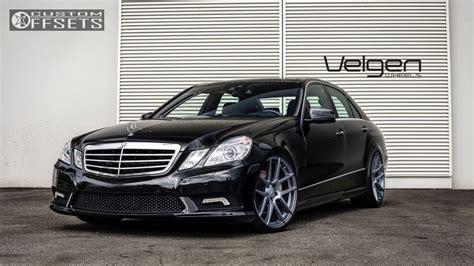 Ultra powerful yet efficient 4.7 v8 engine! 2013 Mercedes Benz E550 Velgen Wheels Vmb5 Hr Lowered On Springs