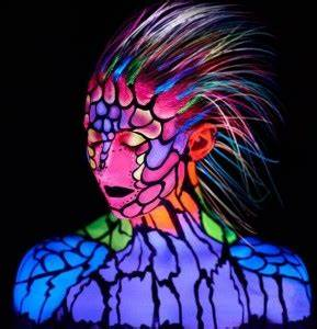 Glow In The Dark Body Paint for sale Festival Fanatics