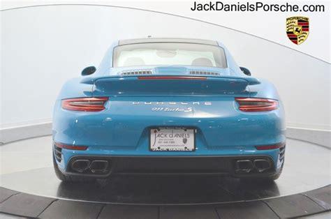miami blue porsche turbo s dealer inventory 911 turbo s coupe miami blue rennlist