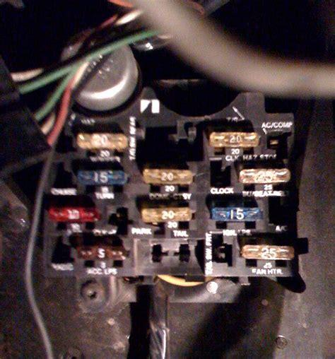 Jeep Cj7 Fuse Block Wiring by Heater Blower On Ac Fuse Jeepforum