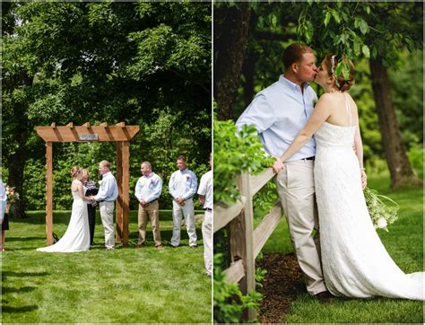 casual backyard wedding rustic wedding chic