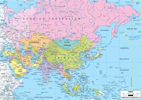 map  asian countries political map  asia  asian