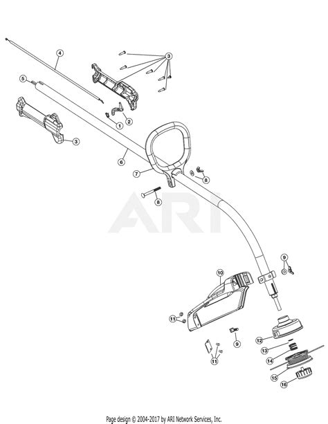Mtd Yvp Bdvpg Parts Diagram
