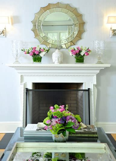 fireplace mantel mirror decorating ideas how to decorate a firplace mantel house to home blog