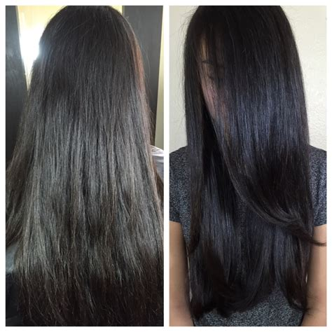 Glossy Black Hair Color by Clear Cellophane Hair Gloss Yelp