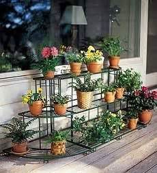 Patio Plant Stand Ideas by 1000 Images About Decorating Ideas On Pinterest Bakers