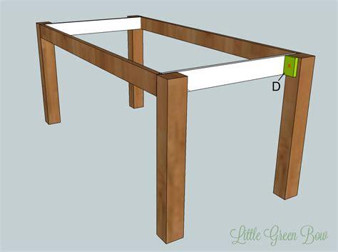 Diy Pottery Barn Dining Table Plans