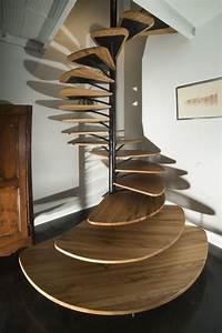16, Elegant, Modern, Spiral, Stairs, Design, Ideas, That, Will, Fit