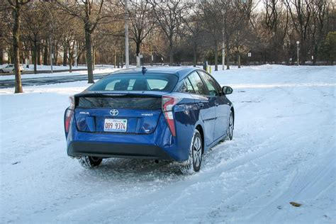 Toyota Of Winter by How Does The Toyota Prius Handle Winter News Cars