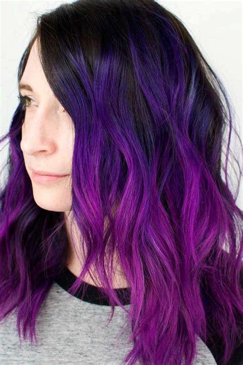 violet hair color ideas best 25 bright purple hair ideas on
