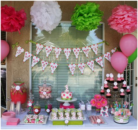 1st birthday party ideas boy happy idea on polka dot sweet shoppe 1st birthday party pizzazzerie