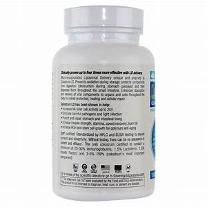 Sovereign Laboratories Colostrum-ld Capsules 480 Mg