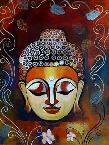 Abstract Buddha Painting | Original Buddha Paintings ...