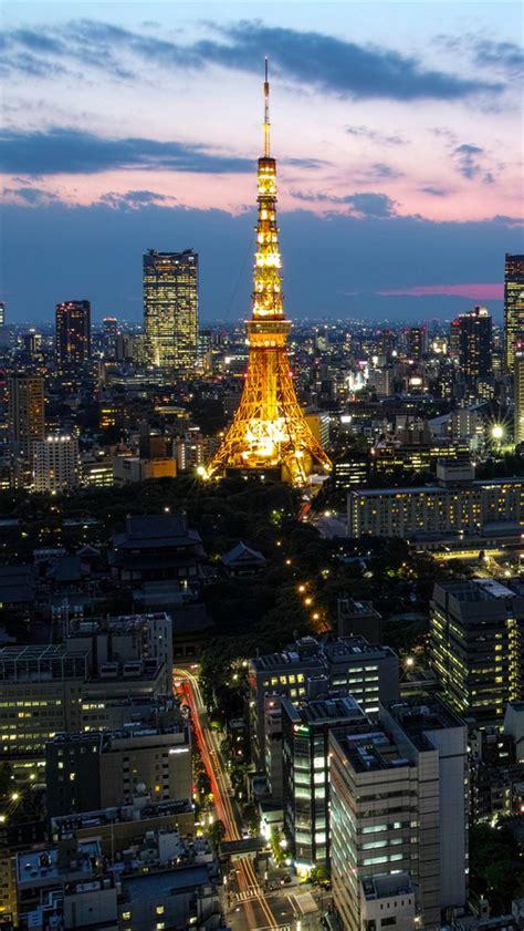 capital de japon tokio torre rascacielos luces iphone