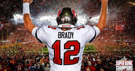 Tom Brady And The Tampa Bay Buccaneers Win Super Bowl Lv