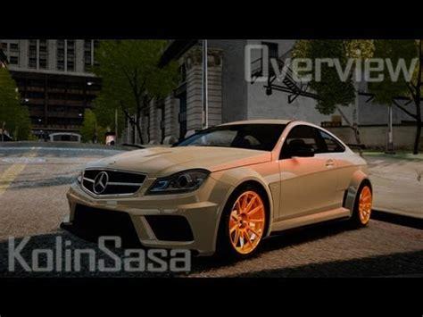 Mercedes-Benz C63 AMG BSAP (C204) 2012 for GTA 4