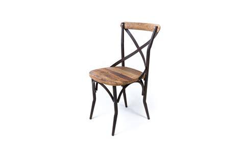 chaise bistrot industrielle vieux bois chaises en m 233 tal ma maison est magnifique ma maison