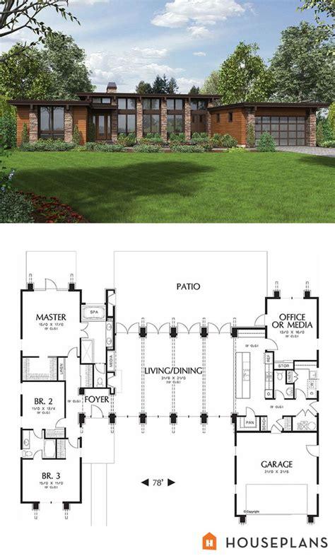 plan   wwwhouseplanscom modern style house plan  beds  baths  sqft main floor