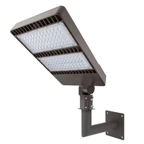 wall mount bracket for led area lights and led parking lot