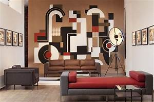 Drawing room wall paintings ideas weneedfun for Applying the harmony to your living room paintings