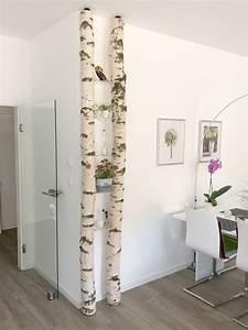 Baumstamm Deko Säule : pin auf interior design mit wei en birkenst mmen von birkendoc ~ A.2002-acura-tl-radio.info Haus und Dekorationen