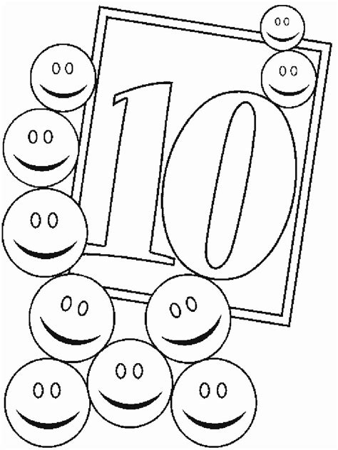 numbers coloring pages   print  numbers