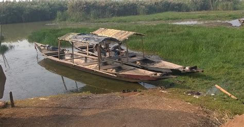 Take This Broken Boat And Point It Home by Spice Of Encounters At Chilika