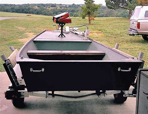 Jon Boat Deck Build by Jon Boat Trailer Plans Ftempo