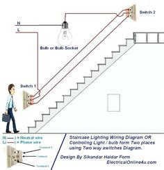 Circuit Diagram For Staircase Wiring by Simple Electrical Wiring Diagrams Basic Light Switch
