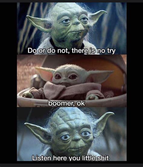 Pin by Kyla Rose on Funny lmaooo in 2020 | Yoda meme ...