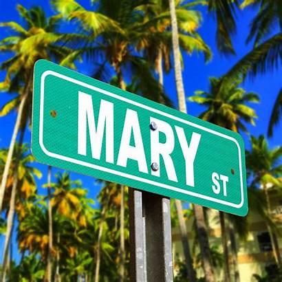Street Sign Custom Reflective Aluminum Signs Mary
