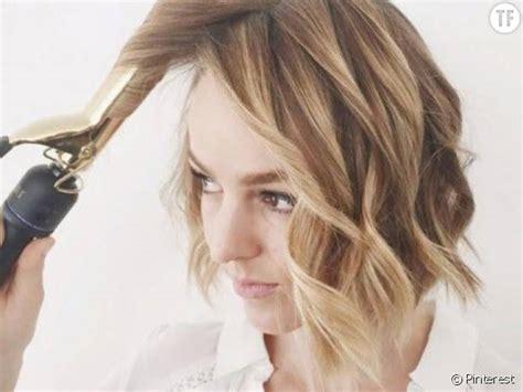coiffure carre ondulee