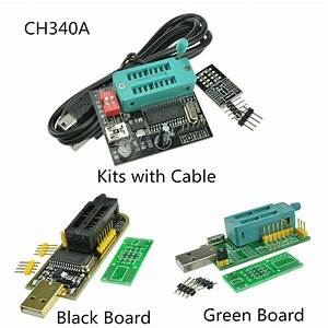 Ch341a Series 24 25 Spi Routing Lcd Flash Writer Usb