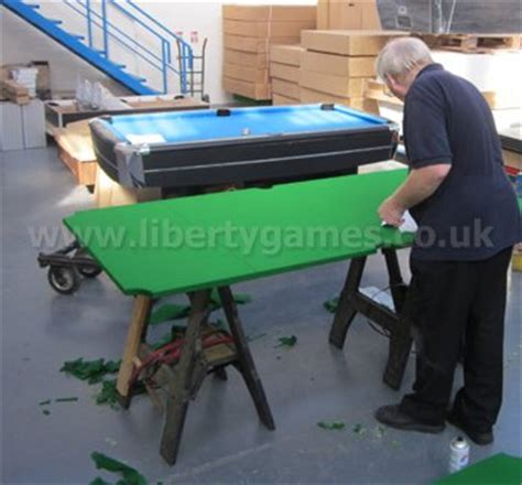 pool table felt replacement pool table recovering liberty games