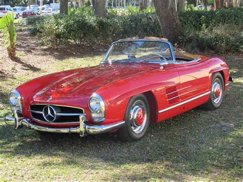 This mercedes 300sl sold for a cold hard sum of sequential cash. 1960 Mercedes-Benz 300SL for Sale | ClassicCars.com | CC-870344
