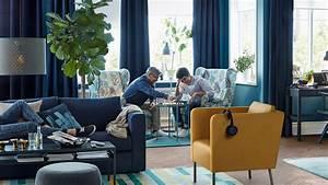 Je veux un salon bleu for Gris couleur chaude ou froide 9 je veux un salon bleu