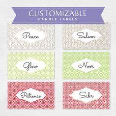 1000 images about candle labels on pinterest candle With create your own candle labels