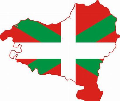 Basque Country Map Flag Svg France Commons