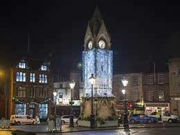 penrith christmas lights switch on staffield hall