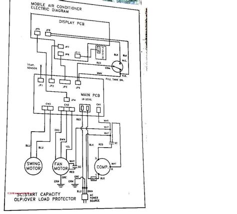 diagrama de aire de ventana airea condicionado