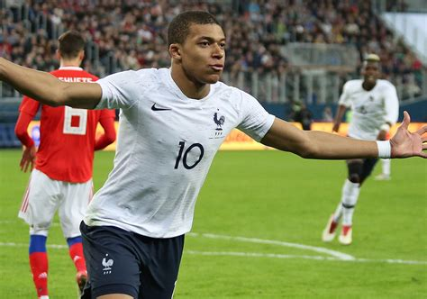 Jul 11, 2018 · in this photo taken with slow shutter speed france's kylian mbappe runs with the ball during the semifinal match between france and belgium at the 2018 soccer world cup in the st. mbappé