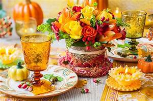 Herbst Dekoration Tisch : herbst tischdeko die natur zum tisch bitten ~ Frokenaadalensverden.com Haus und Dekorationen