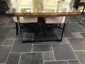 Tisch Recyceltes Holz Tisch Recyceltes Holz Stahlbeinen