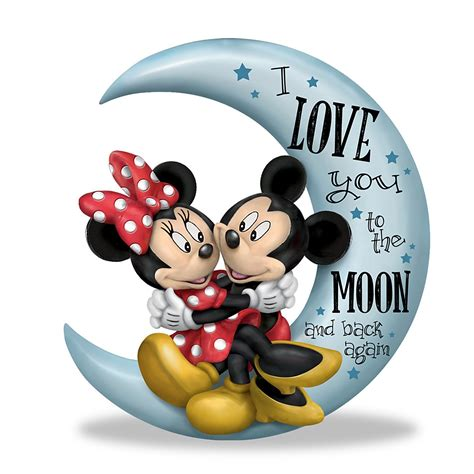 love    moon    disney figurine