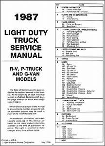 1987 Chevy C30 Wiring Diagram